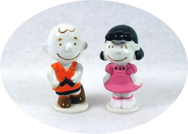 CHARLIE BROWN AND LUCY MINI PVC's SET