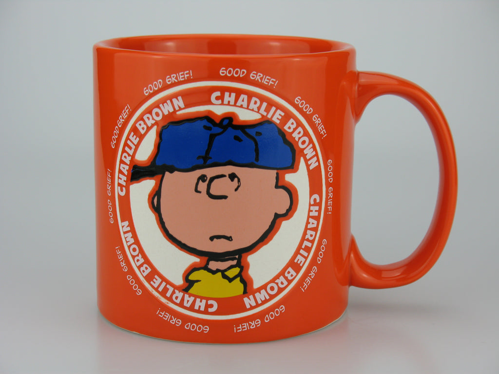 Peanuts Jumbo Philosophical Mug - Charlie Brown