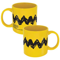 Charlie Brown Large Zig Zag Mug