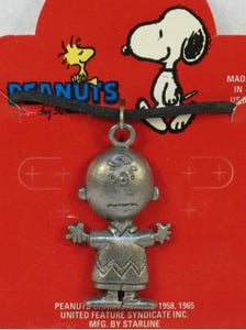 Charlie Brown Pewter Necklace