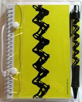 Charlie Brown Zig-Zag Notebook and Pen Set