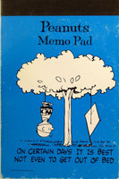 Charlie Brown Decorated Note Pad