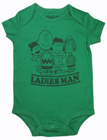 Peanuts Gang Onesie - Ladies Man