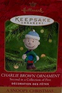 2000 SERIES #2 CHRISTMAS ORNAMENT - CHARLIE BROWN
