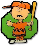 Charlie Brown Baseball Pin