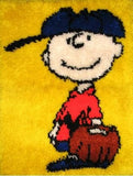 Charlie Brown Latch Hook Wall Hanging/Rug