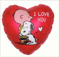 Charlie Brown and Snoopy Heart - I Love You