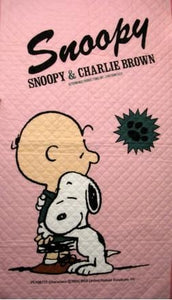 Charlie Brown and Snoopy Mattress Cover