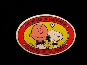 Charlie Brown and Snoopy Pin