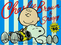 Charlie Brown and Snoopy Large Sticker
