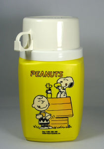 Charlie Brown and Snoopy Thermos Bottle