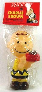Charlie Brown Vinyl Squeeze Toy