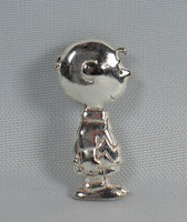 Charlie Brown Sterling Silver Pendant
