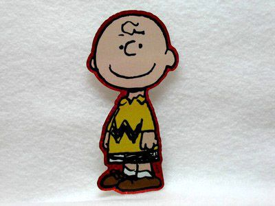 Charlie Brown Metallic Sticker