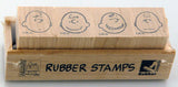 Charlie Brown Mini Rubber Stamp Set - RARE!