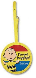Charlie Brown Luggage Tag
