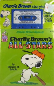 """Charlie Brown's All-Stars"" Book and Tape Set"