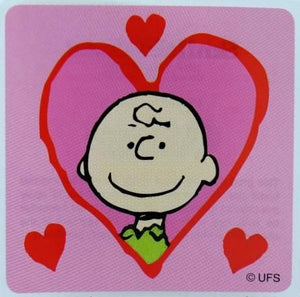 Charlie Brown Valentine's Day Sticker