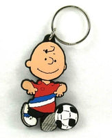 CHARLIE BROWN SOCCER PLAYER key chain
