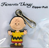 Charlie Brown Pvc Zipper Pull