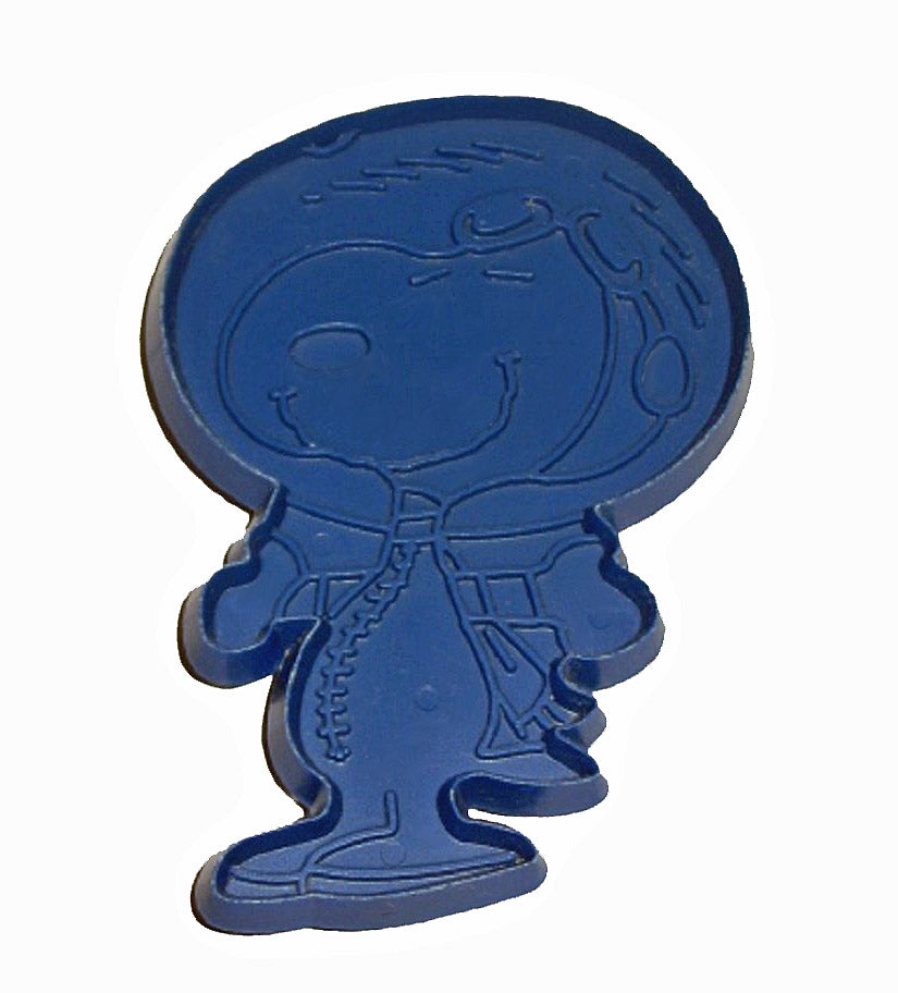 Snoopy Astronaut - BLUE Cookie Cutter