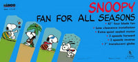 Snoopy Ceiling Fan and Light Kit - Fan For All Seasons