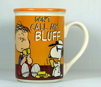 Peanuts Gang Character Mug - Linus and Joe Cool