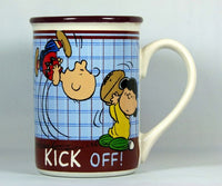 Peanuts Gang Character Mug - Charlie Brown and Lucy