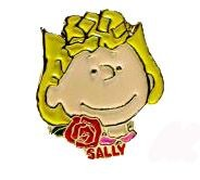 Enamel Character Pin - Sally