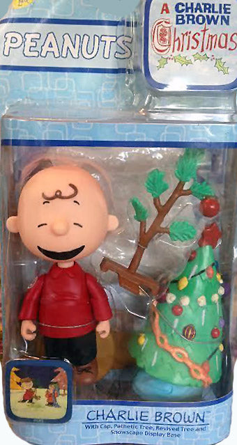 Charlie Brown Figure - Charlie Brown Christmas Memory Lane - ON SALE!