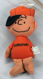 Charlie Brown Hanging Bean Bag Pillow Doll - SURVIVE! (COVID-19!)