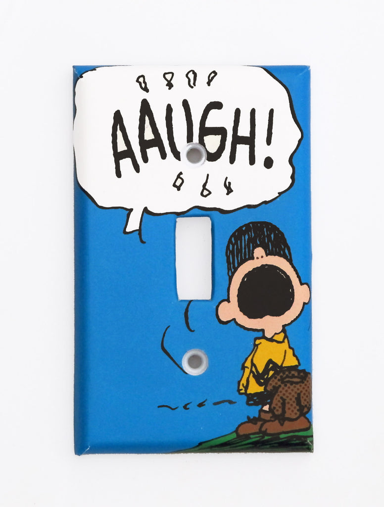 Charlie Brown Switch Plate Cover