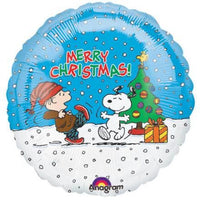 Linus and Snoopy Christmas Balloon