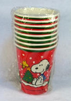 Snoopy Christmas Cups