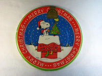 Snoopy Christmas Dinner Plates - Extra Large