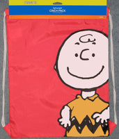 Peanuts Nylon Cinch Sack Tote - Charlie Brown