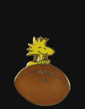 Woodstock On Football Cloisonne Pin