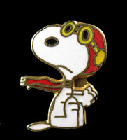 Flying Ace Cloisonne Tie Tack / Pin