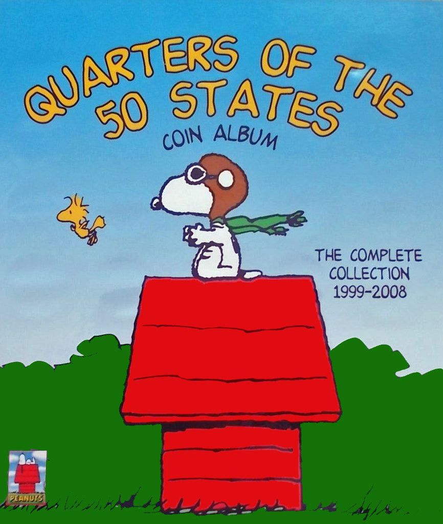Peanuts Gang 50 State Quarters Collection Album