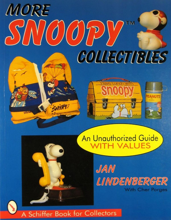 More Snoopy Collectibles Book