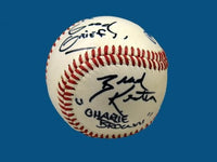 Brad Kesten  Autographed Baseball (TV Voice of Charlie Brown)