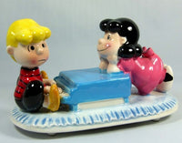 Schroeder and Lucy Musical Figurine
