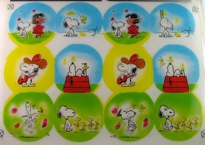 Snoopy Lenticular Vari-Vue Display Board - REDUCED PRICE!