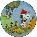 1984 Limited-Edition Collector Plate - Snoopy & The Beaglescouts