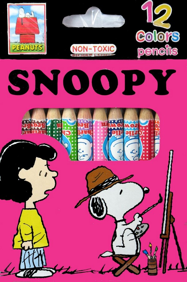Snoopy Colored Pencil Set