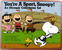 You're A Sport, Snoopy! Olympic Colorforms Set