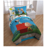 Peanuts Movie Twin Comforter With Pillow Sham
