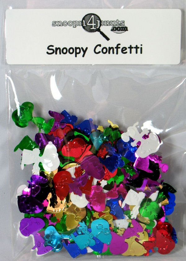 Metallic Confetti - Snoopy, Joe Cool, and Flying Ace - ON SALE!