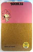 Snoopy Combination Write-On / Cork Board -