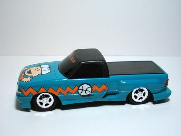 Charlie Brown Model Truck